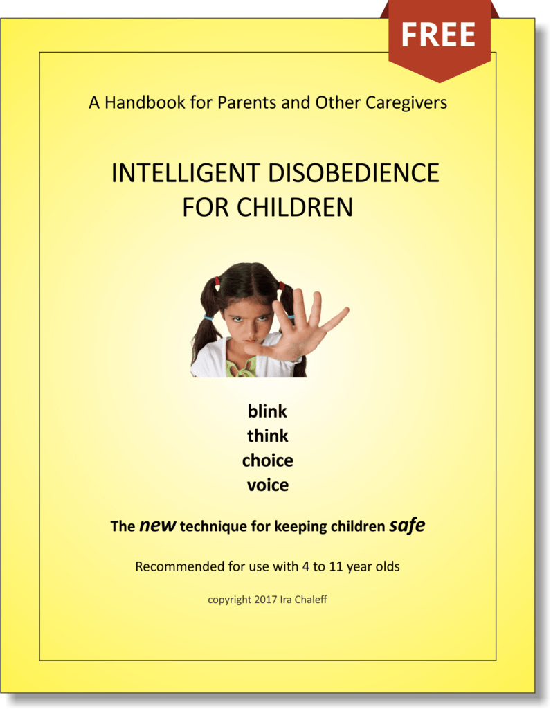 Intelligent Disobedience for Children - Cover