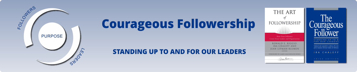 Courageous Followership