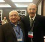 Ira and Odir Pereira at International Leadership Association conference, 2011. Odir founded and directs the Leadership Institute in Brazil and is an ILA board member.