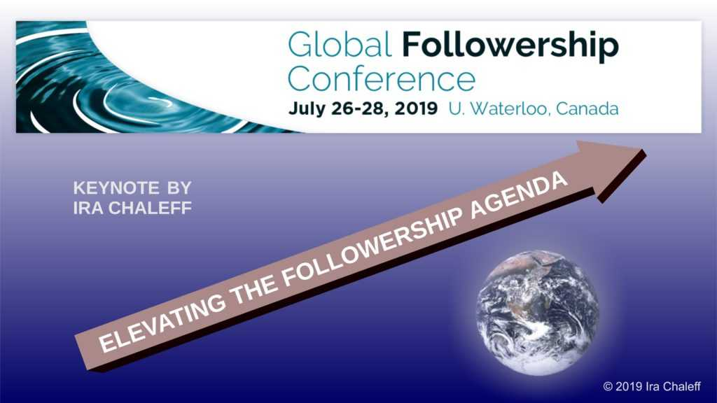 Elevating the Followership Agenda - Keynote